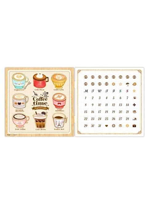 Educa Pintoo Puzzle Takvim Kahve Vakti Renkli